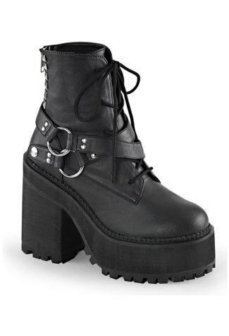 ASSAULT-101 Vegan Platform Boots
