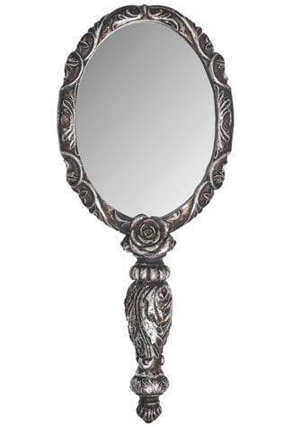 Baroque Rose Hand Mirror