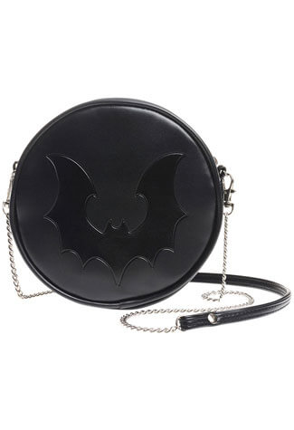 Bat Circle Shoulder Bag