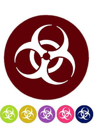 Biohazard Acrylic Disc Pair