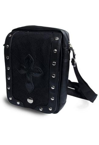 Black Cobweb Lace Bag