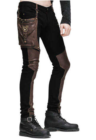 Brighton Mens Steampunk Pants
