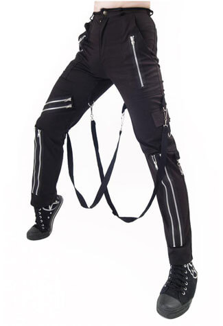 Canvas Bondage Trousers