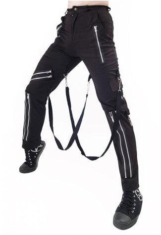 Canvas Bondage Trousers