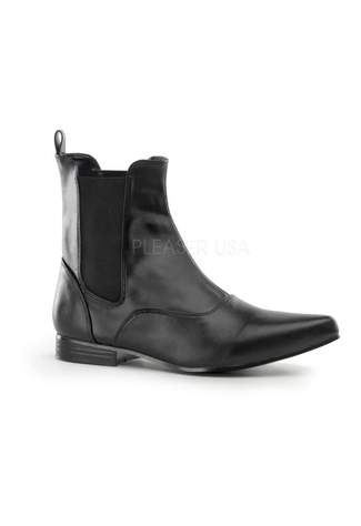 CHELSEA-58 Black Beatle Boots