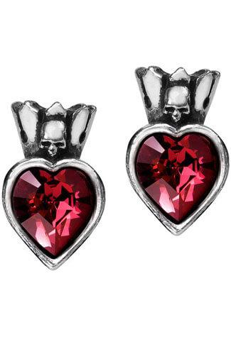 Claddagh Heart Earstuds