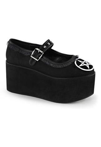 CLICK-02 Pentagram Platform Shoes