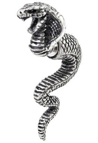 Cobra Life Force Earring Stud