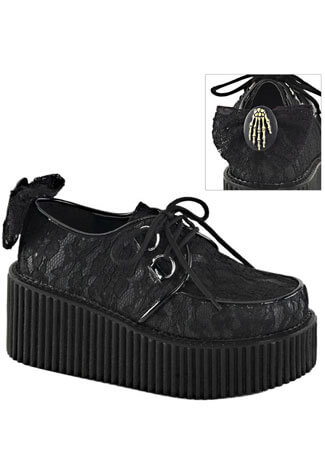 CREEPER-212 Lace Creeper Shoes