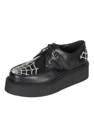 CREEPER-426 Spider Web Creeper Shoes