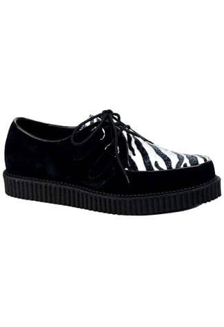 CREEPER-600 Zebra Print Creepers