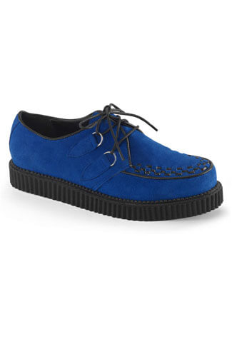 CREEPER-602S Blue Suede Creepers