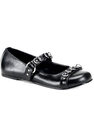 DAISY-05 Black Ring Flats
