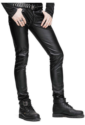 Decode Men's Leather Pants