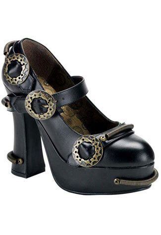 DEMON-29 Steam Punk Shoes - Clearance