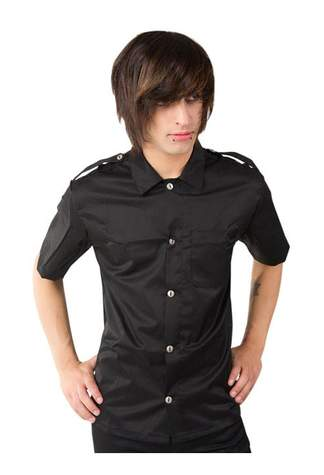 Army Shirt Denim Black (M)