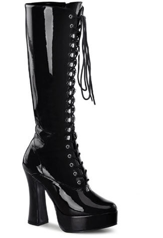 ELECTRA-2020 Black Patent Boots