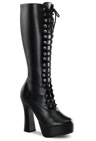 ELECTRA-2020 Black PU Boots