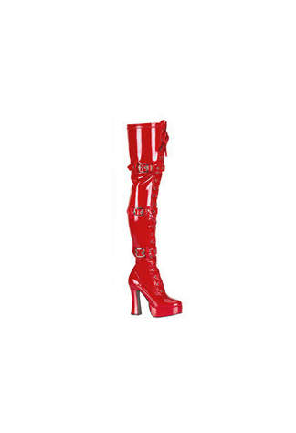 ELECTRA-3028 Red Patent Boots