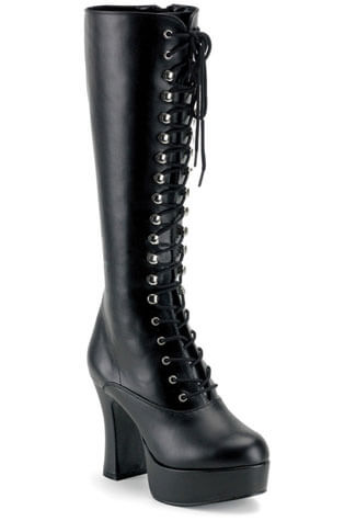 EXOTICA-2020 Laceup PU Boots