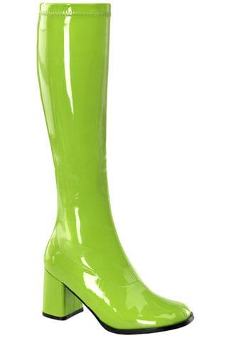 GOGO-300 Lime Gogo Boots