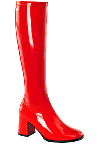 GOGO-300 Red Gogo Boots
