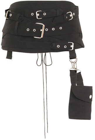Gothic Hel Pocket Belt Cincher