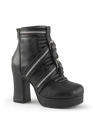 GOTHIKA-50 Ankle High Platform Boots