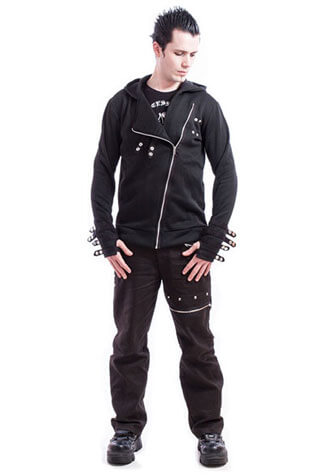 Hypnos Mens Black Hoody