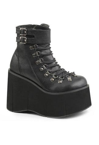 KERA-21 Black Platform Boots