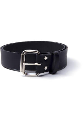 Plain Leather 76B Belt