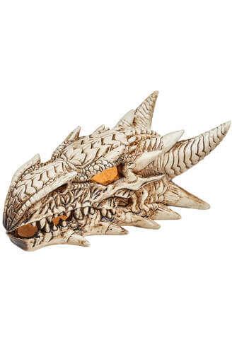 LED Dragon Skull