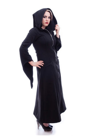 Lilith Gothic Hoody Coat