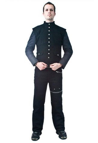 Loki Vest Black