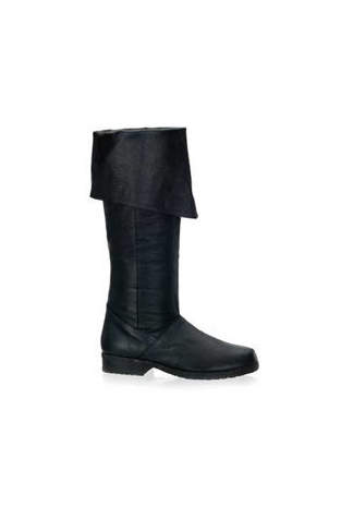 MAVERICK-8812 Black Leather Boots