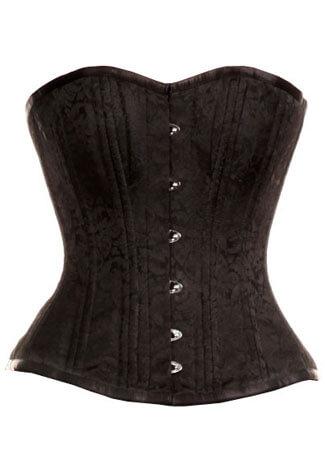 Mila Print Black Corset
