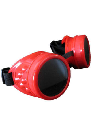 Plain Red Goggles
