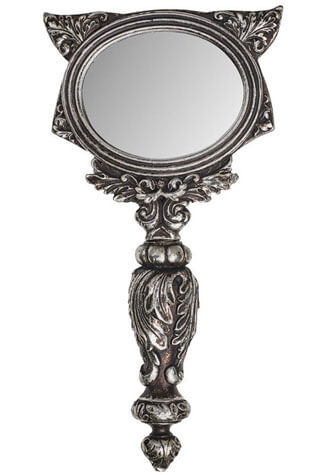 Sacred Cat Hand Mirror