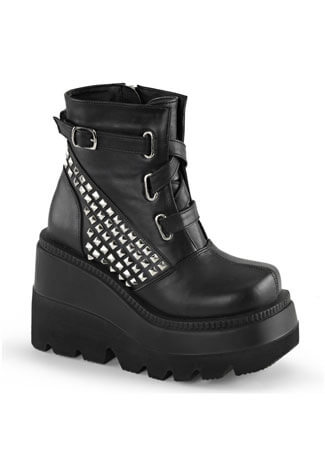 SHAKER-50 Platform Veggie Boots