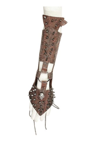 Steampunk Spiked Single Glove