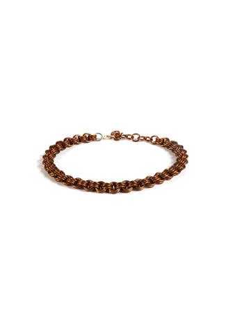 Steampunk Copper Chain Choker