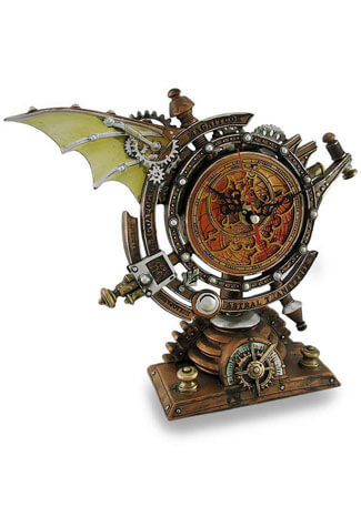 The Stormgrave Chronometer Clock by Alchemy of England