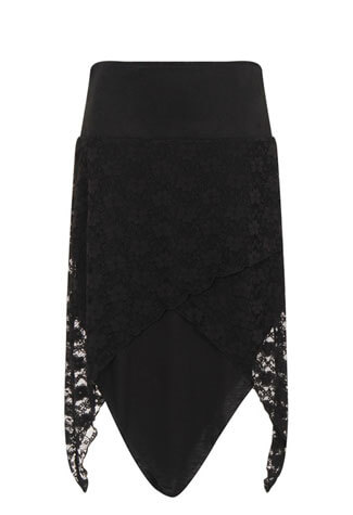 Gothic Tana Lace Skirt