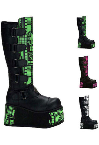 TECHNO-850UV Interchangeable Cyber Boots
