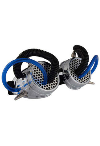The Thin Blue Line Cyber Goggles