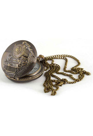 Train Antique Pendant/Watch