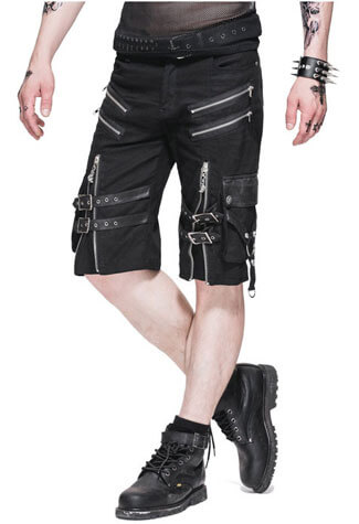 Mens Zipper Shorts