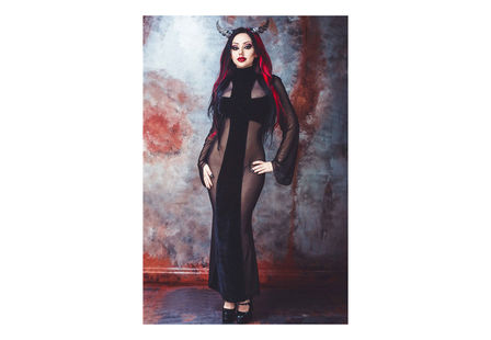 Aphrodite Cross Gothic Dress
