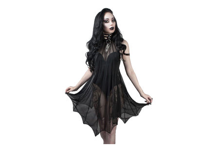 Medeina Bat Wing Gothic Dress