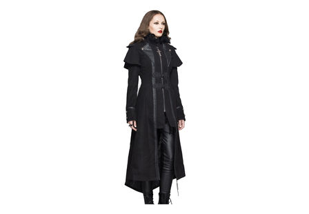 Serenity Women's Gothic Trench Coat
